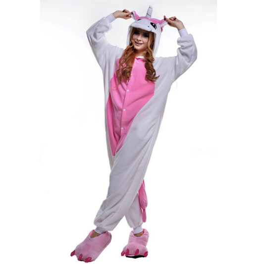 Pink Unicorn Adult Pyjama