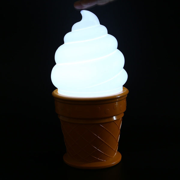 Ice Cream Shape Night Light for Kids Room