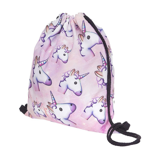 Backpack Unicorn Pattern Bag