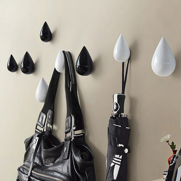 3D resin drop hooks wall decoration hanger