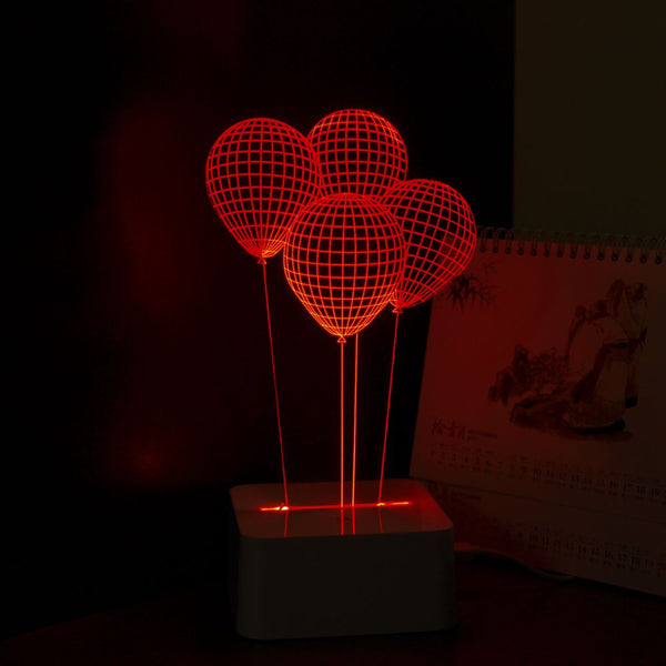 3D Balloon Led Lamp
