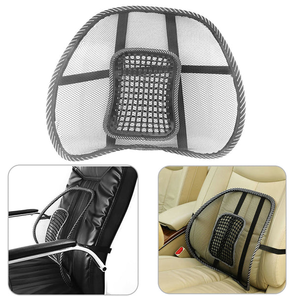 Mesh Back Support with Massage