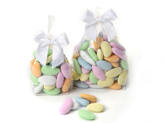 Candy Coated Chocolate Covered Almonds.
