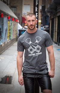 Piston Power T-Shirt - Grey