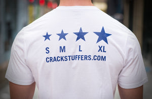 Classic Crackstuffers T-Shirt - White