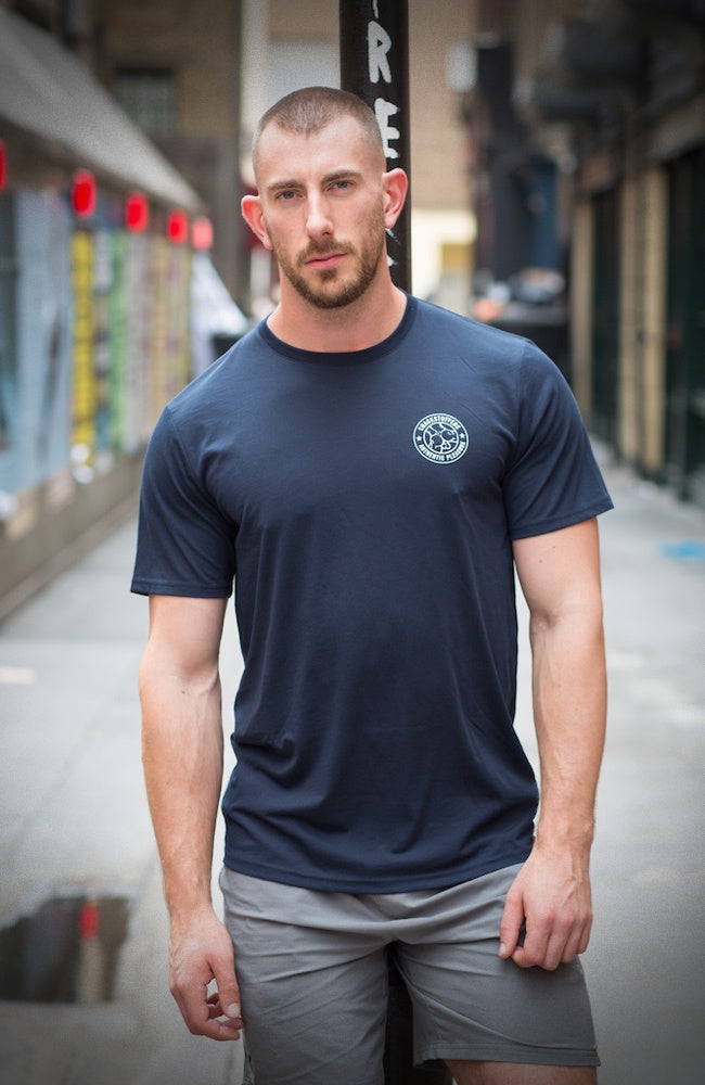 Classic Crackstuffers T-Shirt - Dark Navy
