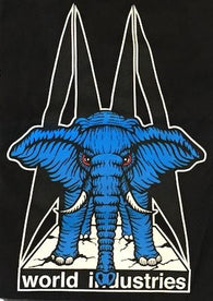 Prime World Industries Mike Vallely Blue Elephant on the Edge T-Shirt