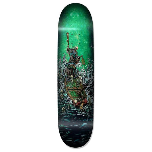 Techne Boatman On The River Styx Skateboard Deck
