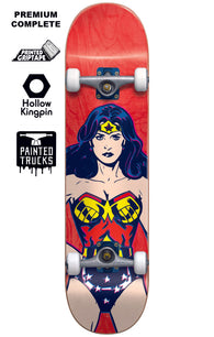 Almost x DC Wonder Woman Premium Complete Youth Skateboard