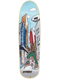 New Deal Danny Sargent Invaders Slick Bottom Skateboard Deck