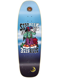 New Deal Siamese Double Kick Slick Bottom Skateboard Deck *Pre-Order*