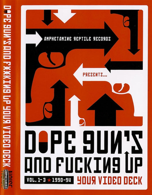 Dope Guns & Fucking Up Your Video Deck DVD Amphetamine Reptile Records Amrep