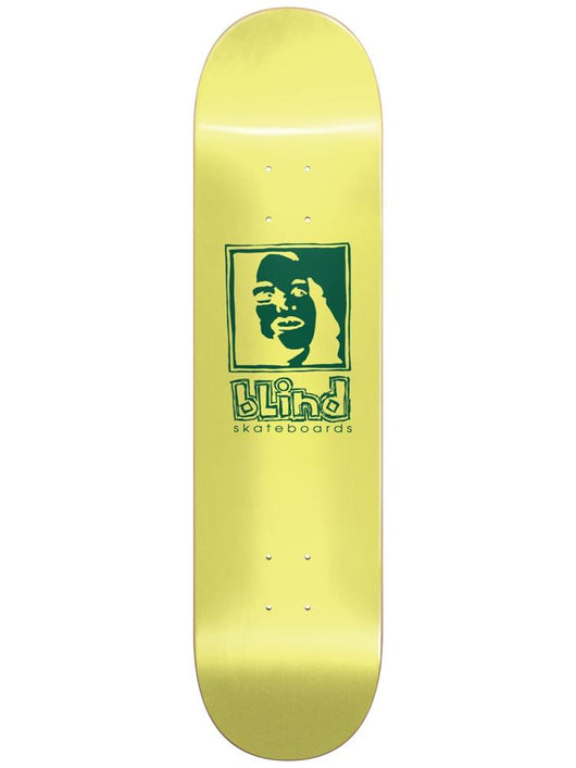 Blind Girl RHM Yellow 8.5 Skateboard Deck