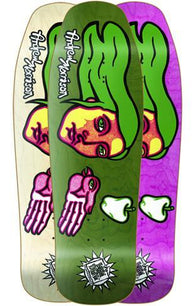 New Deal Andrew Morrison Bird Hand Skateboard Deck
