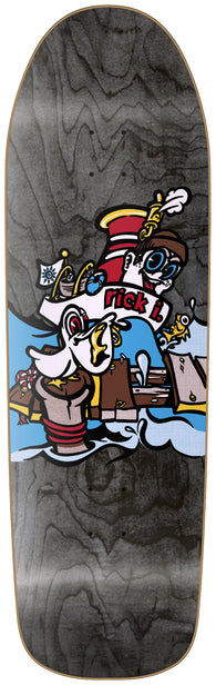New Deal Ibaseta Tugboat Skateboard Deck