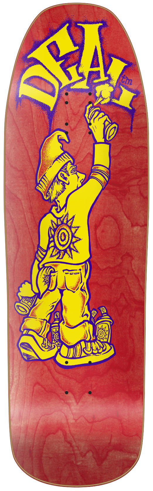 New Deal Tagger Skateboard Deck *Pre-Order*
