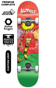 Almost x Dr. Seusss Lorax Premium Complete Skateboard