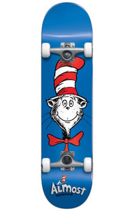 Almost x Dr. Seusss Cat Face Complete Skateboard *Pre-Order*