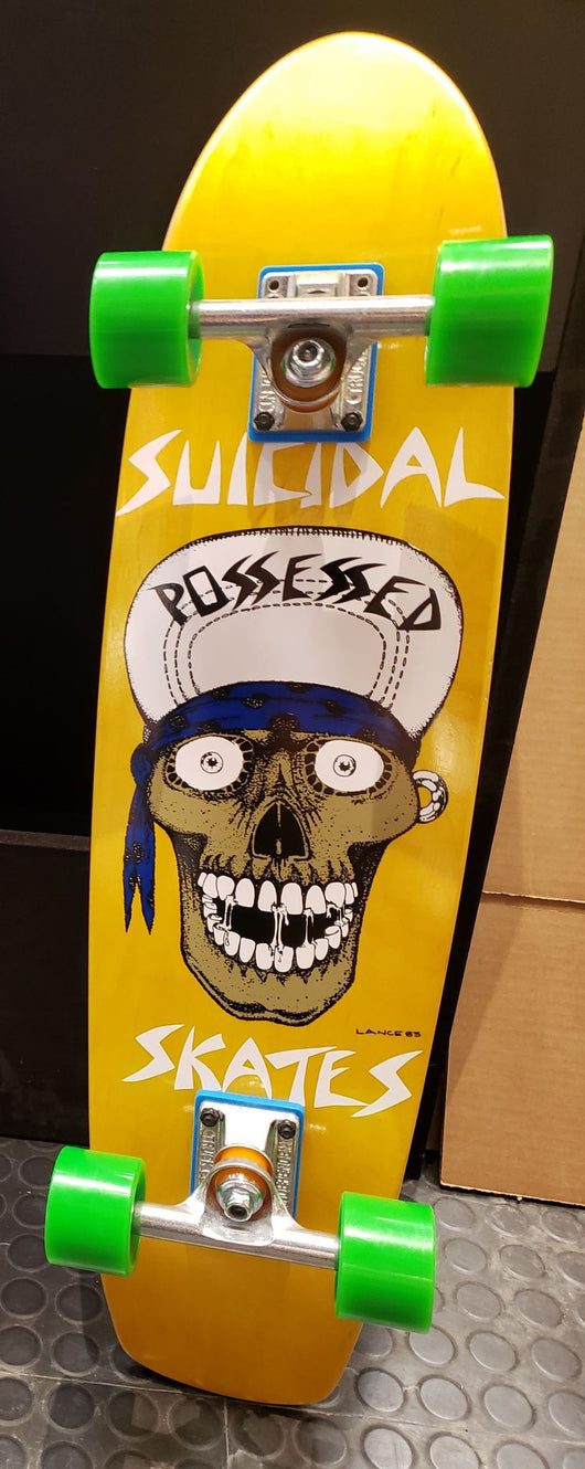Dogtown x Suicidal Tendencies Punk Skull Cruiser Complete Skateboard 7.875