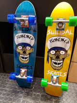 "Dogtown x Suicidal Tendencies Punk Skull Cruiser Complete Skateboard 7.875"" X 30.25"""