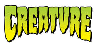 Creature Skateboards Classic Green Logo Sticker / Decal