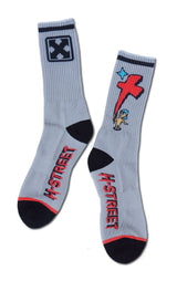 H-Street Tony Magnusson Kid'N'Cross Skateboard Socks