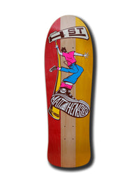 H-Street Matt Hensley Street Swinger 328 C Series LTD Skateboard Deck