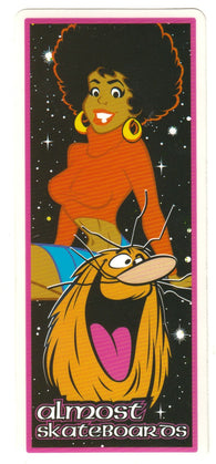 ALMOST Daewon Song Captain Caveman HANNA-BARBERA HERITAGE STICKER