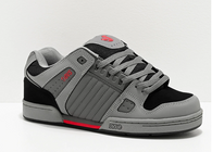 DVS Celcius Charcoal Grey, Red & Black Skateboard Shoes