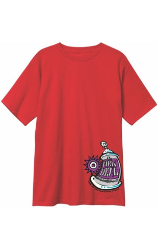 New Deal Spray Can Logo T-Shirt