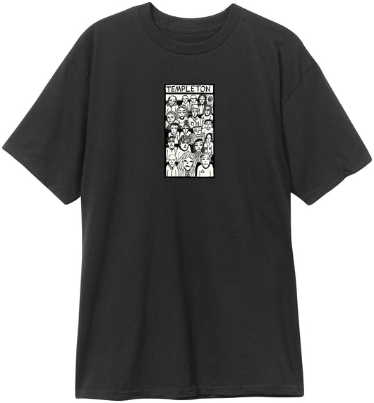 New Deal Ed Templeton Crowd T-shirt