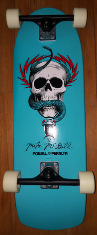 Powell Peralta Mike McGill Skull and Snake Blue Complete Skateboard