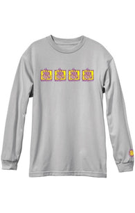 The New Deal Napkin 4 Bar Long Sleeve T-Shirt *Pre-Order*