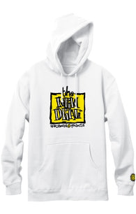 New Deal Napkin Logo Pullover Hooded Sweatshirt
