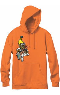 New Deal Danny Sargent Monkey Bomb Pullover Hooded Sweatshirt