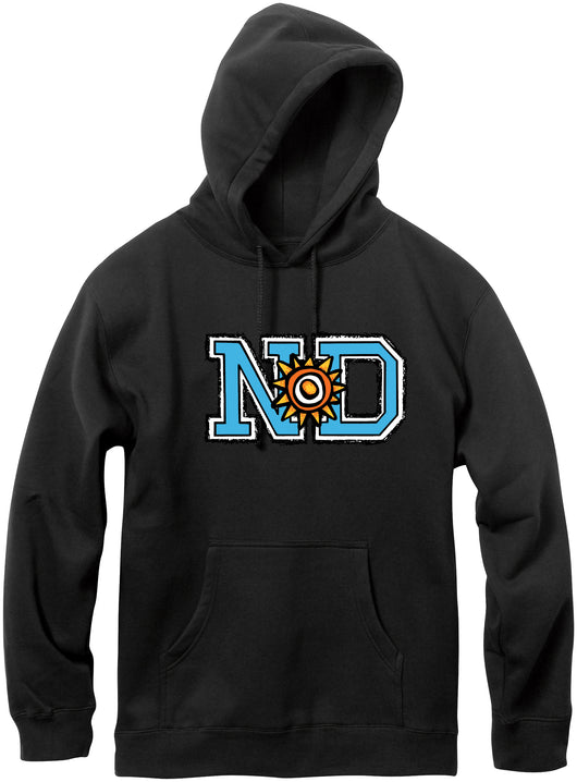 New Deal Skateboards ND Pullover Hooded Sweatshirt *Pre-Order*