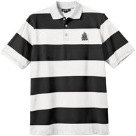 New Deal Stripped Polo Shirt