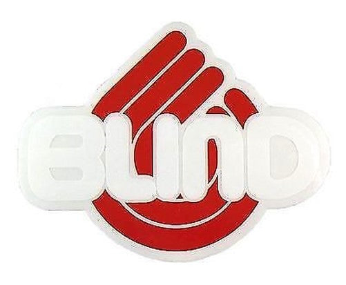 Blind Triple B Logo Sticker