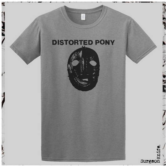 Distorted Pony Punishment Room T-Shirt by Surgeon Knife