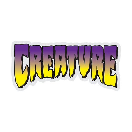 Creature Purple Logo Sticker