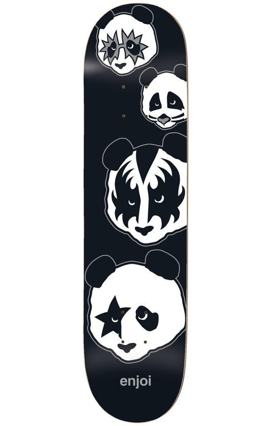 Enjoi Kiss Panda Logo Skateboard Deck
