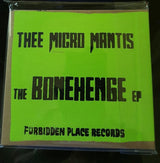 "Thee Micro Mantis ""The BoneHenge"" EP CD"