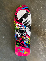 Punk Stix Duane Peters Gonz Pink OG Skateboard Deck
