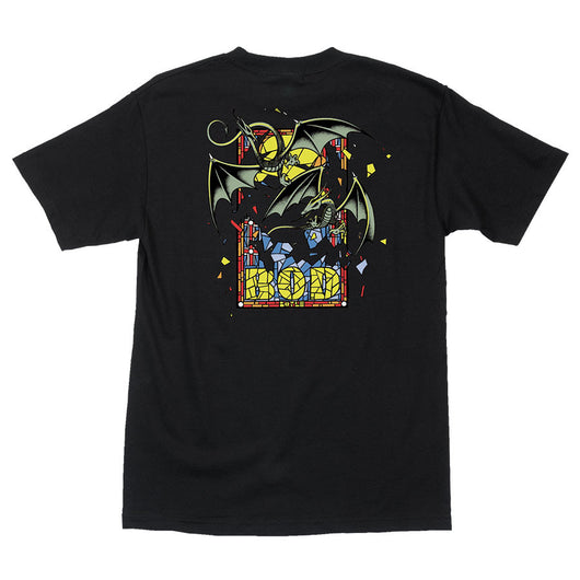 T-shirts Santa Cruz Bod Boyle Stained Glass T-Shirt - TheDarkSlide