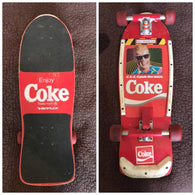 Variflex x Coke Max Headroom C-C-C-Catch the Wave Complete Skateboard 1987