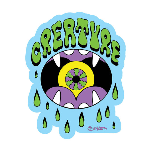 Creature Skateboards Shakra Sticker / Decal