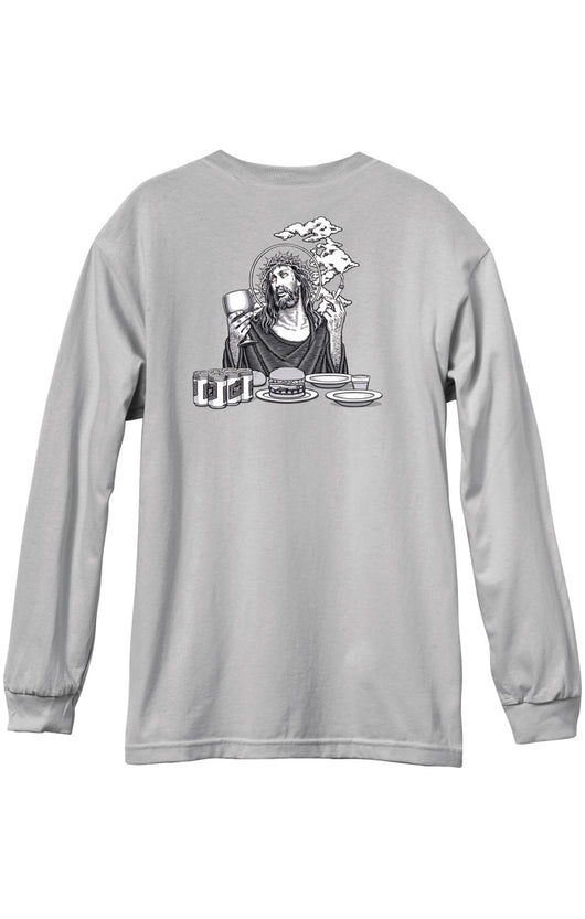 101 Smoking Jesus Long Sleeve T-Shirt
