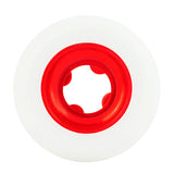 Ricta Chrome Clouds Red 56mm 86a Skateboard Wheels