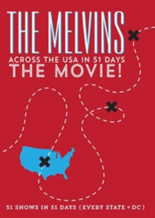 Melvins - Across The Usa In 51 Days The Movie DVD