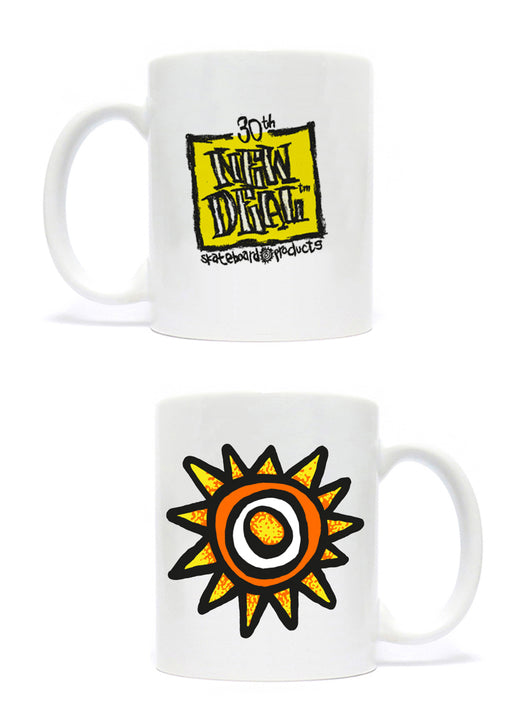 New Deal Skateboards Sun / Napkin Logo Coffee Mug *Pre-Order